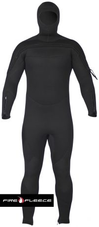 SPECIAL OPS/SAR FRONT ZIP/HOOD ATTACHED FIRE FLEECE SEMI-DRY JUMPSUIT