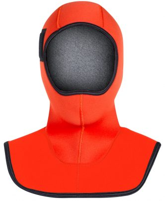SAR SWIMMER FIRE FLEECE 7/5MM HOOD